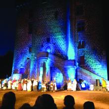 Spectacle Son et Lumière au château Dauphin